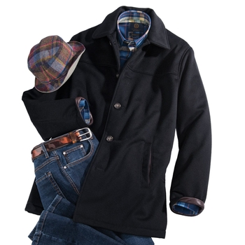 Preston Wool Car Coat
