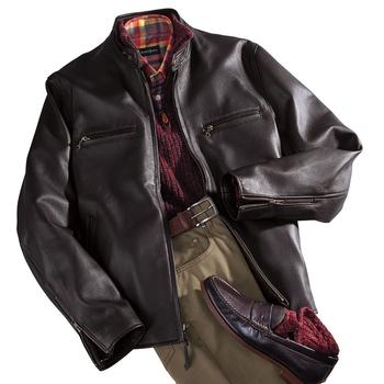 Marlon Deerskin Motorcycle Jacket