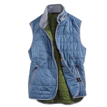 Lightweight Zip Vests from Italy