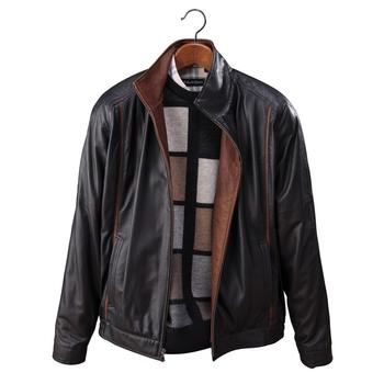 Richards Leather Blouson