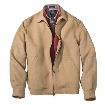 Emerson Camel Hair Zip Blouson