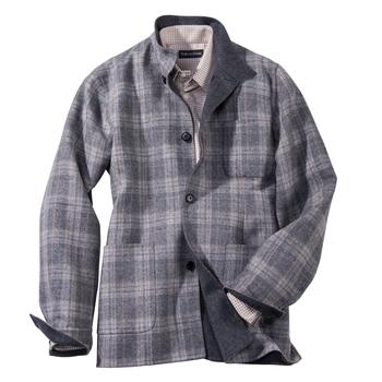 Mantova Wool/ Cashmere Shirt Jacket