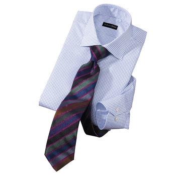 Graph Check Dress Shirt by Hagen