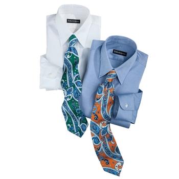 Silk Paisley Italian Ties