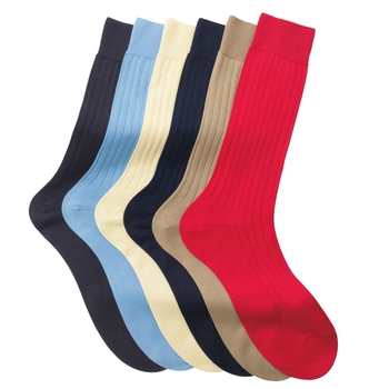 Sea Island Cotton Socks