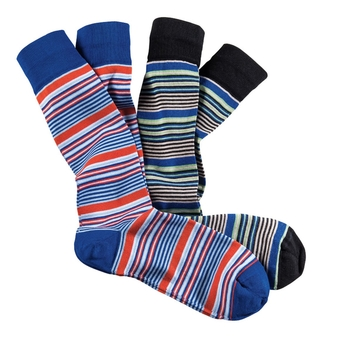 Stripe Cotton Socks