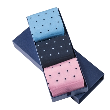 Box of 3 Dot Socks