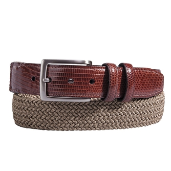 Lizard Tab Stretch Belt