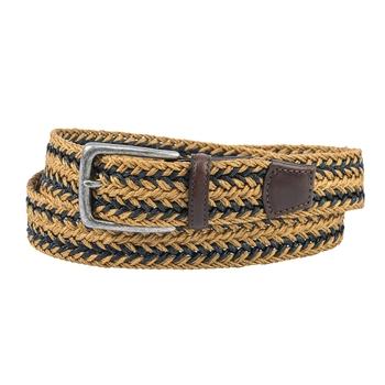 Braided Linen Stretch Belts