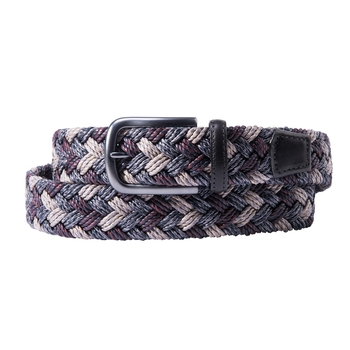 Multicolor Braided Cotton Belt
