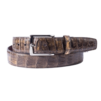 South American Caiman Crocodile Belt