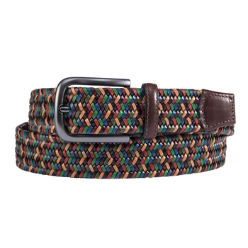 Multicolor Italian Stretch Belt