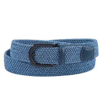 Blue Mix Braided Stretch Belt