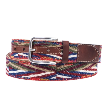 Rainbow Mega Herringbone Belt