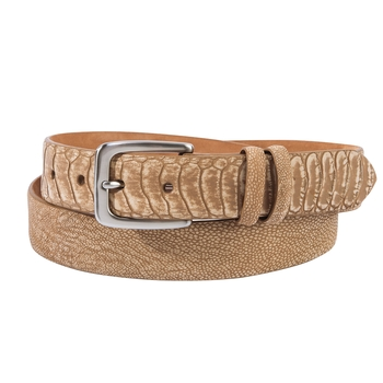 Morgan Ostrich Belts