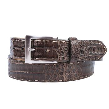 Stitched Crocodile Sport Belt