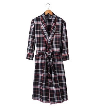 Viyella Plaid Robe