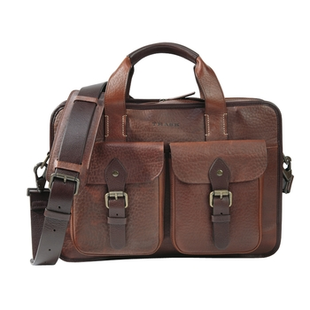 American Bison Zip Top Tote by Trask