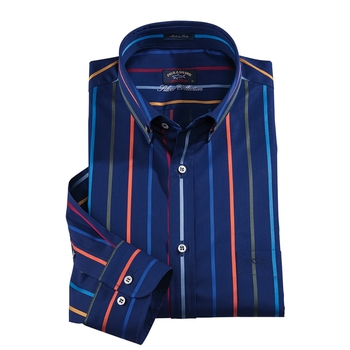 Paul & Shark Stripe Sport Shirt