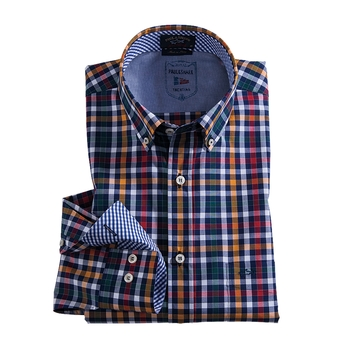 Multicolor Check Shirt by Paul & Shark