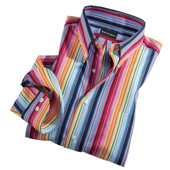 Awning Stripe Button-Down