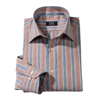 Arzo Stripe Swiss Sport Shirt
