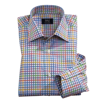 Sartoriale Multi Check Shirt