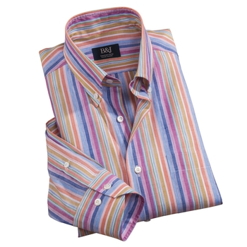 Sartoriale Multi Stripe Shirt