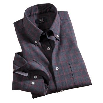 Sartoriale Windowpane Shirt