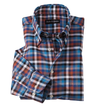 Portland Twill Check Sport Shirt