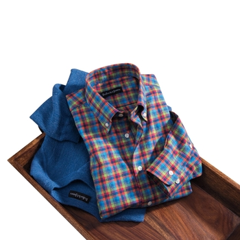 Brushed Twill Sport Shirt