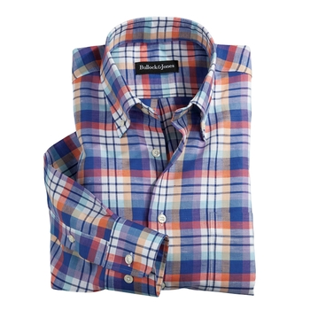 Cotton and Linen Sport Shirt