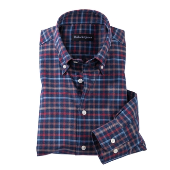 Roberts Plaid Twill Sport Shirt