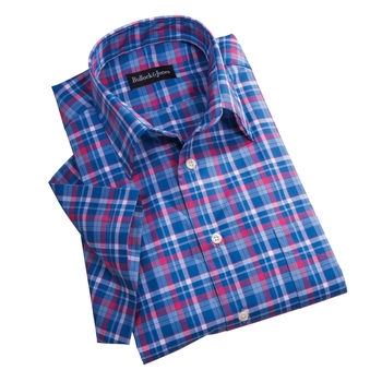 Stinson Plaid Short Sleeve Sport Shirt