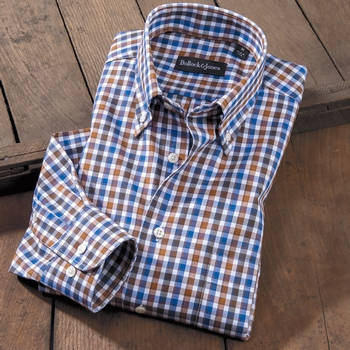 Wallis Twill Check Sport Shirt