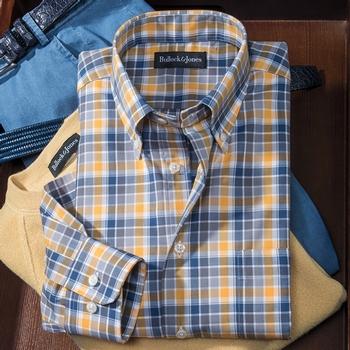 Solano Flannel Check Sport Shirt