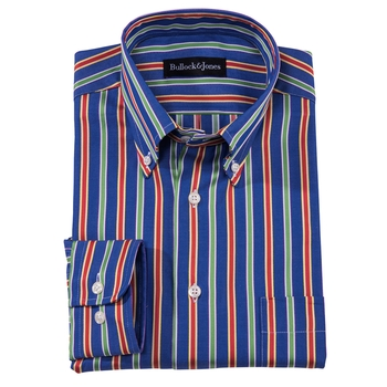 Barclay Stripe Button-Down