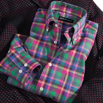 Carmel Plaid Sport Shirt