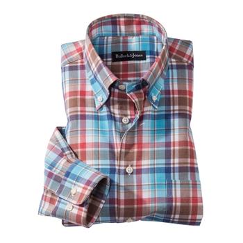 Everett Check Flannel Sport Shirt