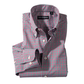 Holiday Check Button- Down