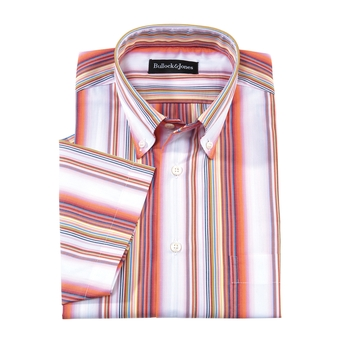 Brisbane Stripe Short-Sleeve Sport Shirt