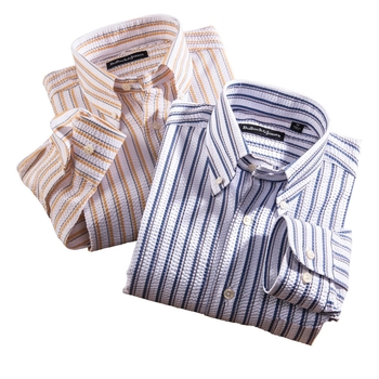 Seersucker Stripe Shirts