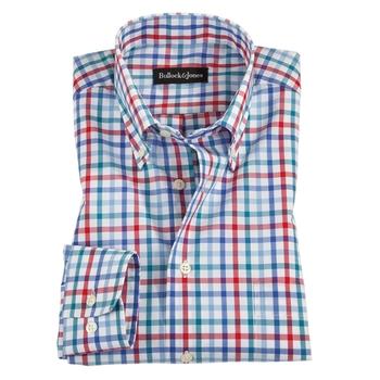 Red & Blue Check Sport Shirts