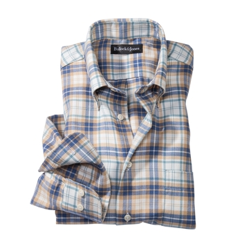 Marin Flannel Plaid Sport Shirt