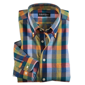 Color Block Sport Shirt