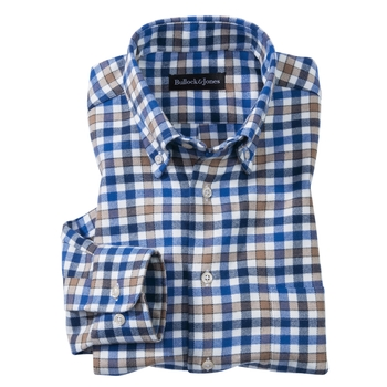 Manchester District Check Flannel Sport Shirt