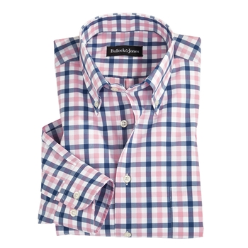 Double Windowpane Button-Downs