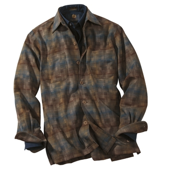 Woodland Lightweight Wool Over Shirt