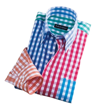 Color Medley Check Sport Shirt