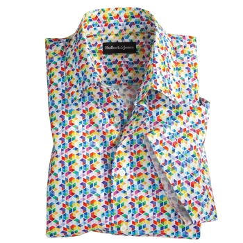 Color Cubes Sport Shirt